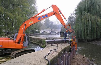 Travaux d'ouvrage hydraulique