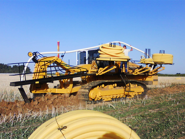 Drainage agricole